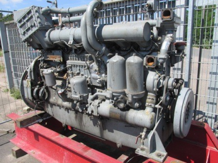 BF8M716 Motor in Teilen