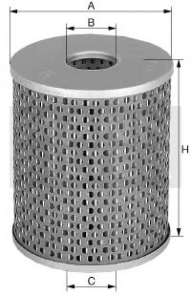 Mann Filter: Mann & Hummel Filterelement / H 15 222/2
