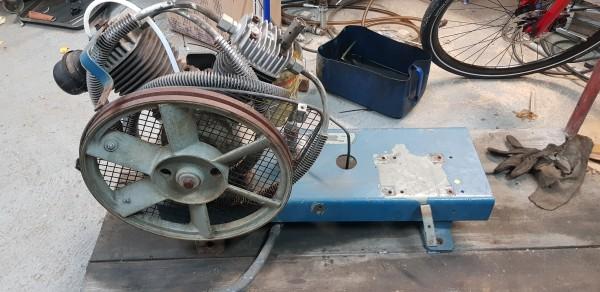 Alup Doppelkolben Kompressor