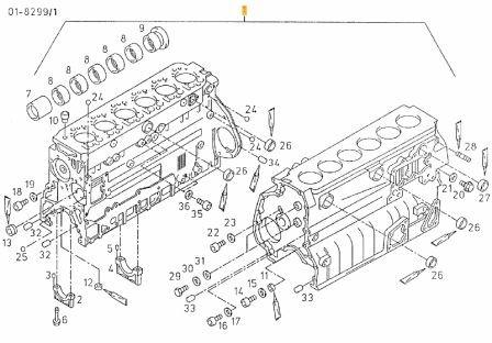 Motorblock 2866 | MAN-Motorteile | MAN Motoren | Motoren | Motoren-Staab