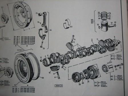 BF8M716 Deutz Pleuelstange