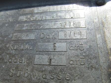 Gebrauchter Ladeluftkühler aus Deutz Typ: BF8M716