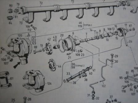 BF8M716 Deutz Wasserpumpe
